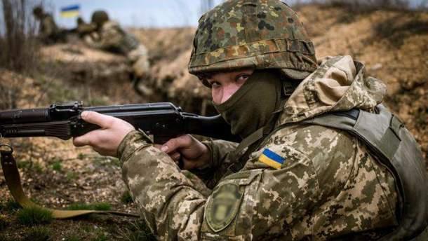 Ситуация на Донбассе в зоне ООС