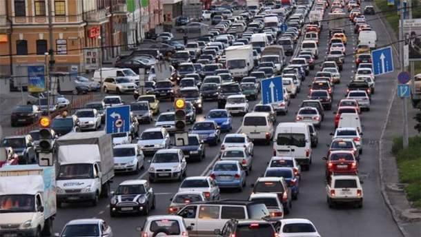 Ограничена скорость в пределах Киева