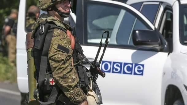 В Украине находятся более 1200 наблюдателей ОБСЕ