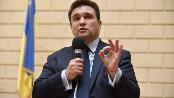 Павло Клімкін зреагував на введення санкції Росії проти України