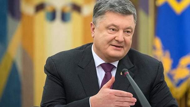 Порошенко отреагировал на санкции России против украинцев