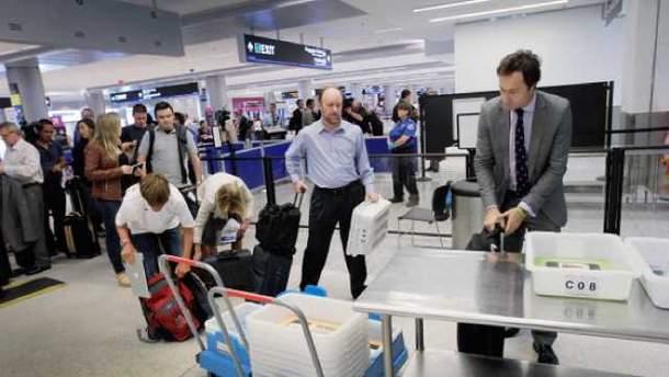 Пасажирів в аеропорту перевірятиму штучний інтелект