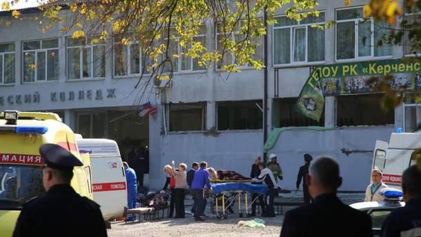 Колледж в Керчи, в котором произошла массовая бойня