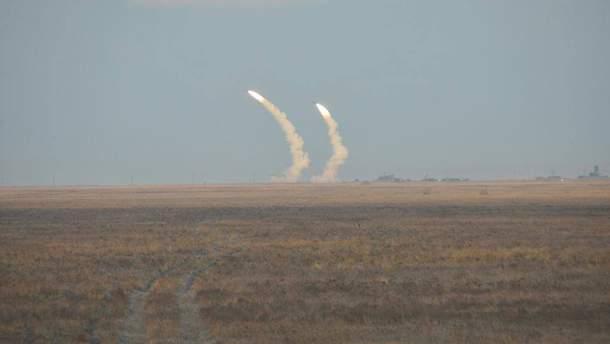 На Херсонщине начались учебные стрельбы Воздушных сил