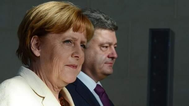 """Меркель прибыла в Украину на """"кастинг"""" будущих президентов?"""