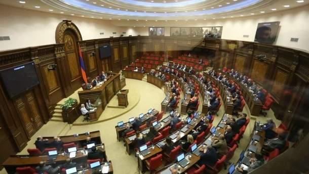 Національні збори Вірменії розпустили