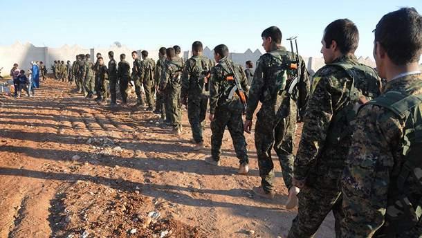 "Солдаты отрядов ""Сирийских демократических сил"""