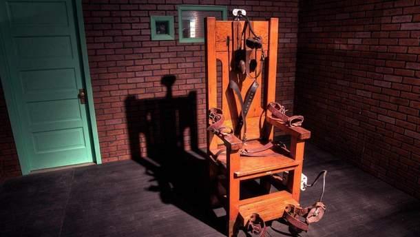 У США ув'язненого стратили на електричному стільці