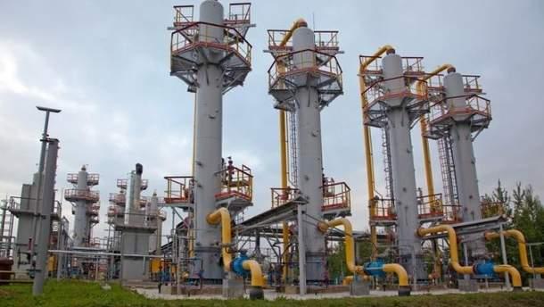 Газовые хранилища Украины