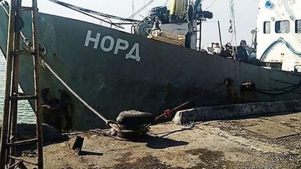 """Россияне заявляют, что уже ведут переговоры в отношении капитана судна """"Норд"""" и даже отпустили из СИЗО украинцев"""