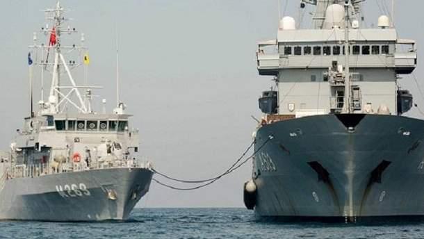 Корабли НАТО прибыли в Грузию