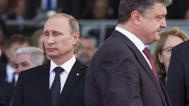 Порошенко і Путін не будуть зустрічатися один на один у Парижі