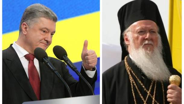 Порошенко встретится с Вселенским патриархом Варфоломеем