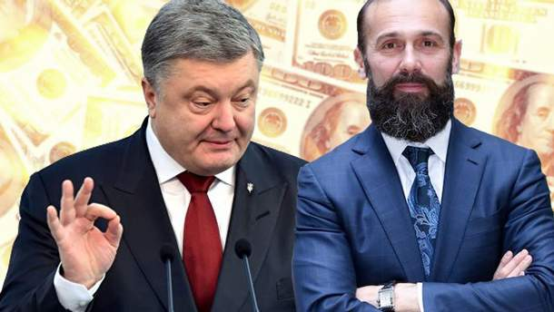 Петро Порошенко і Артур Ємельянов
