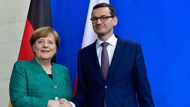 Меркель и Моравецкий призвали РФ прекратить агрессию в Украине