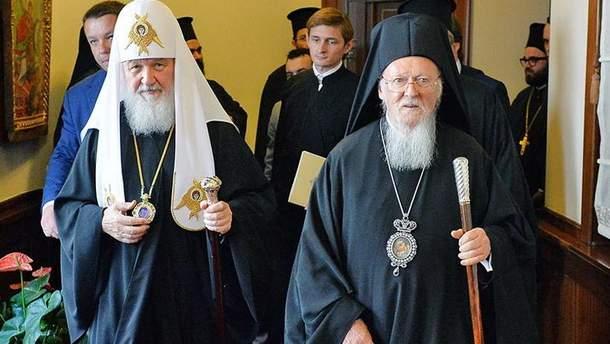 У Константинополі заявили, що можуть позбавити автокефалії РПЦ