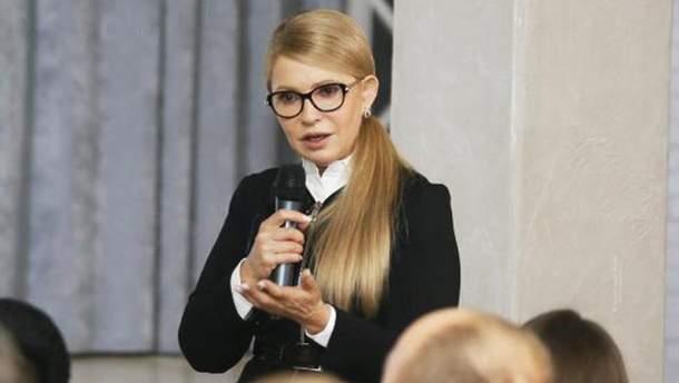 Тимошенко заявила, що має план оптимізації держборгу, у якому немає жодної копійки її уряду