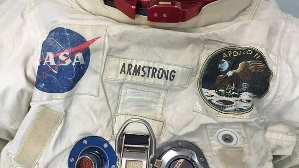 Скафандр Армстронга, який побував на Місяці, продали за 88 тисяч доларів