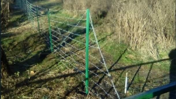 РФ відгородилась від бойовиків на Донбасі парканом
