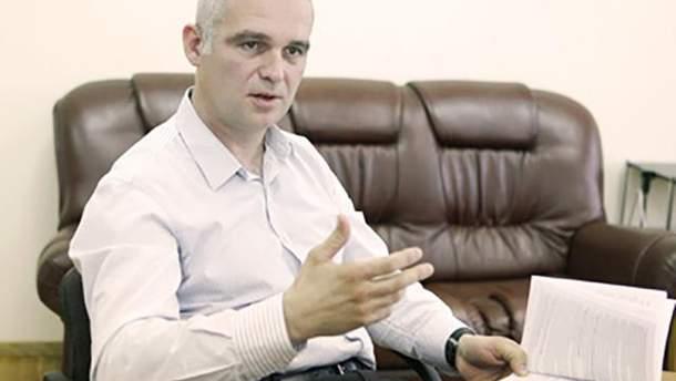 Задержанный в Киеве Валерий Чернобук