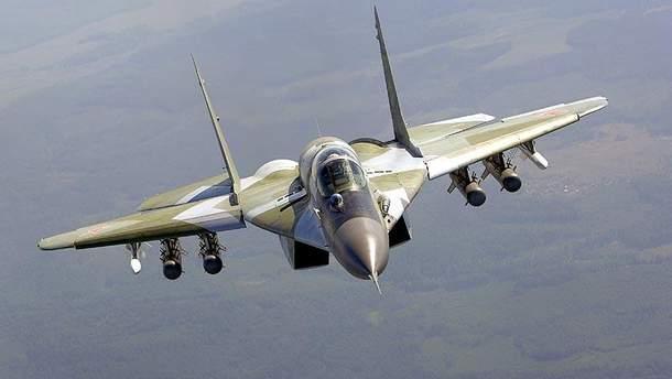 Российский истребитель Миг-29 разбился в Египте