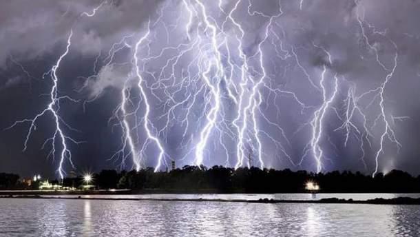Непогода в Италии (иллюстрация)