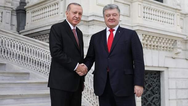 Порошенко встретился с Эрдоганом в Турции