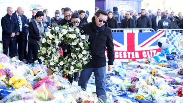 """Гравці """"Лестера"""" були присутні на похороні власника клубу"""