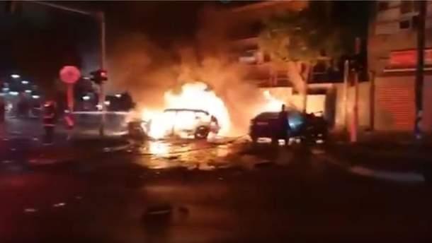 В Тель-Авиве произошел взрыв