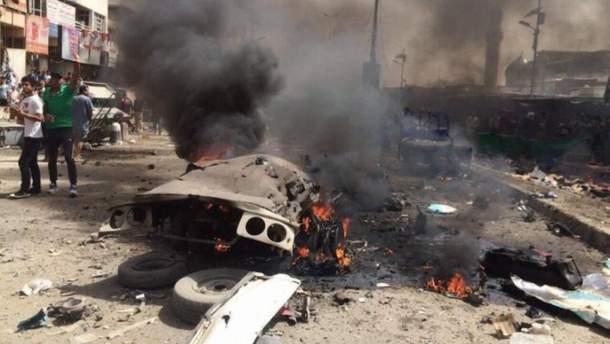 В Багдаде прогремела серия взрывов