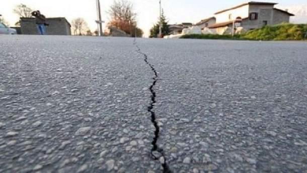 Японию сотрясло мощное землетрясение