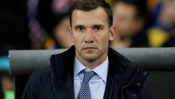 Андрей Шевченко рассказал о ближайших планах сборной Украины