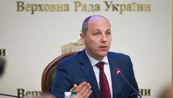 Парубий заявил, что объединительный собор в отношении УПЦ должен пройти до конца ноября