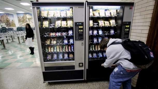 Полезна ли школьная еда из автомата
