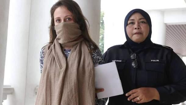 Задержанная в Малайзии украинка