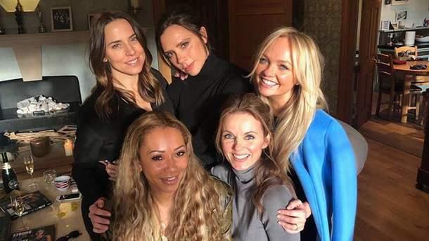 Spice Girls вперше з'явилися напубліці без Вікторії Бекхем: вона нестерпіла