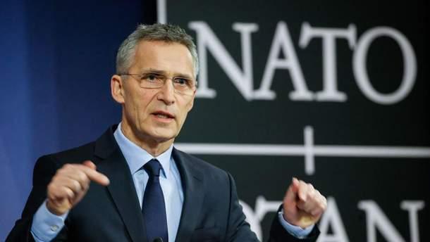 Столтенберг виступив за діалог з Росією