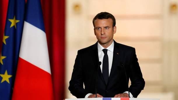 У Франції затримали радикалів, які планували замах на Макрона
