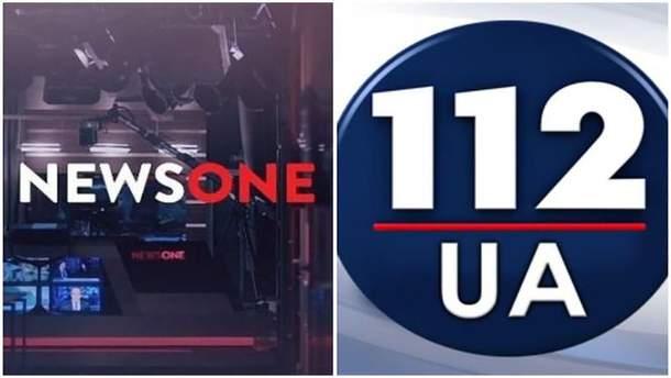 "Телеканала Newsone и ""112 Украина""обвиняют в антиукраинской пропаганде"