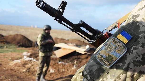 На Донбассе был ранен украинский военный