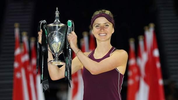 Элина Свитолина претендует на звание лучшей теннисистки октября
