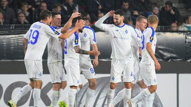 Динамо – Ренн смотреть онлайн матч Лиги Европы