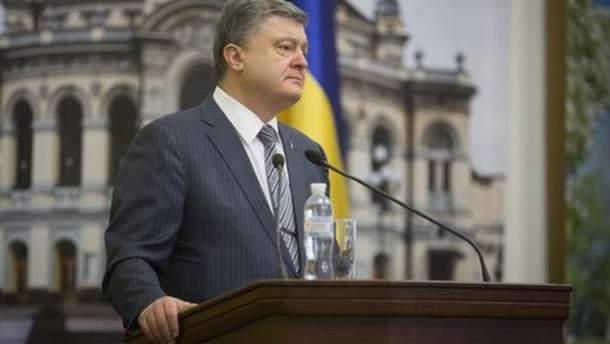 Порошенко заявив, що РПЦ і ЗС РФ нема що робити в Україні