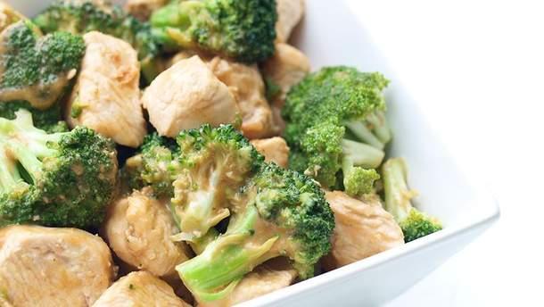 Куриное филе запеченное с брокколи