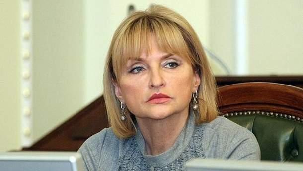Санкції Росії проти України: Ірина Луценко пояснила, чому її немає у списках