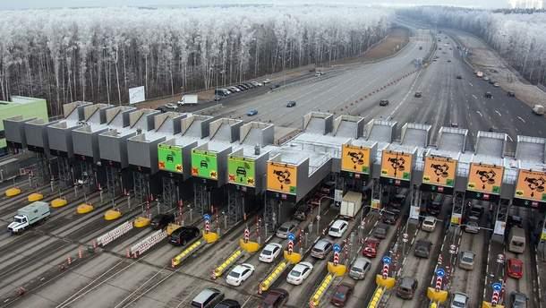Первая платная дорога в Украине