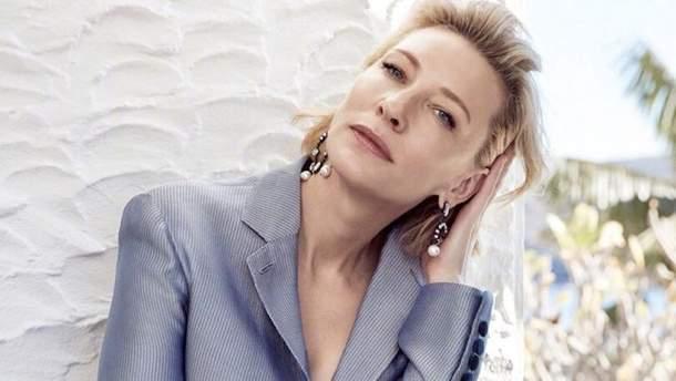 Кейт Бланшетт для  Elle