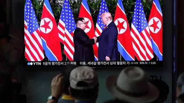 Трамп розповів, коли знову зустрінеться з лідером КНДР Кім Чен Ином