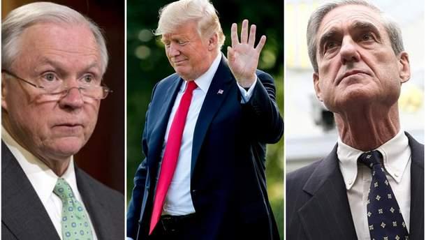 Після звільнення генпрокурора США Трам може атакувати Роберта Мюллера