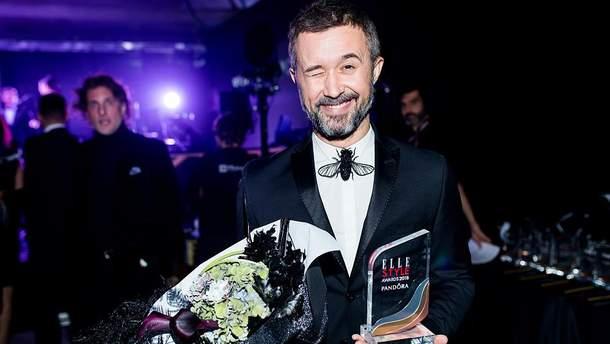 Сергій Бабкін на церемонії ELLE STYLE AWARDS